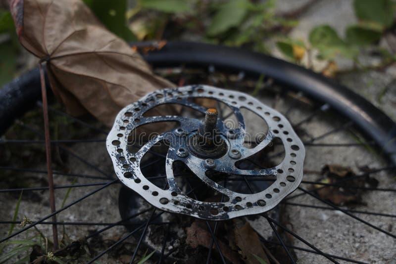 Teile von Fahrrädern stockfotografie