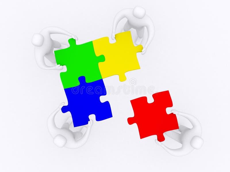Teilhaberschaft vektor abbildung