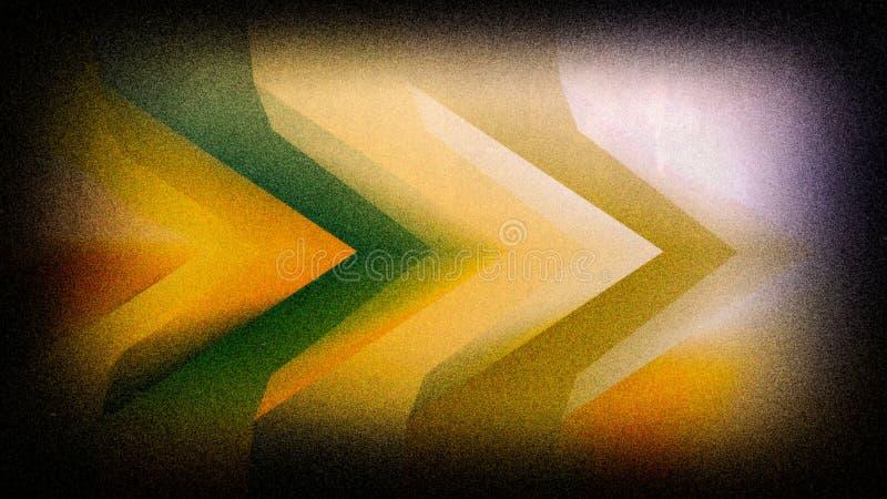 Teintes vertes jaunes et fond élégant de conception de l'industrie graphique d'illustration de fond de nuances beau photographie stock libre de droits