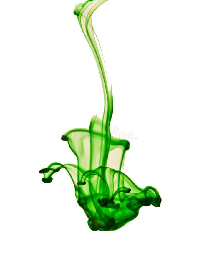 Teinture verte images libres de droits