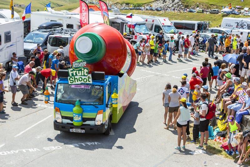 Senseo Caravan In Alps - Tour De France 2015 Editorial