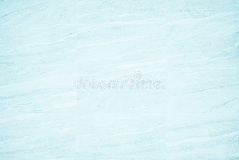 Teja azul de cerámica, luz inconsútil de la textura y del fondo o de la pizarra del granito del cuadrado de la textura blanca Pis fotos de archivo libres de regalías