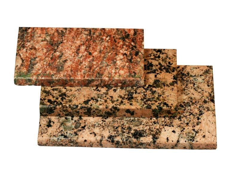Teja del granito natural imagen de archivo