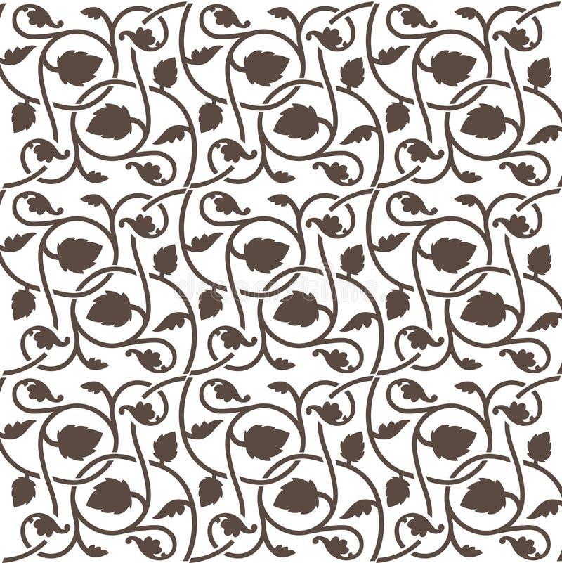 Teja floral del fondo ilustración del vector
