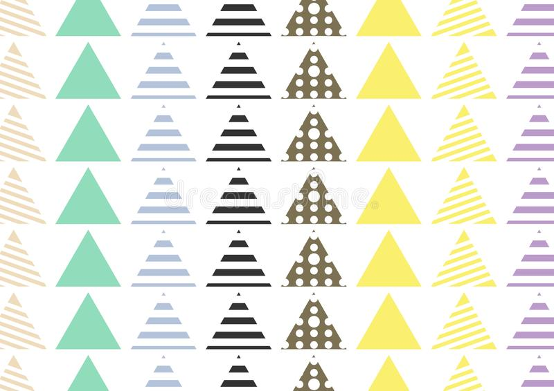 Teja inconsútil del modelo Fondo dibujado mano decorativa de los elementos del vintage Perfeccione para imprimir en tela, el cart libre illustration