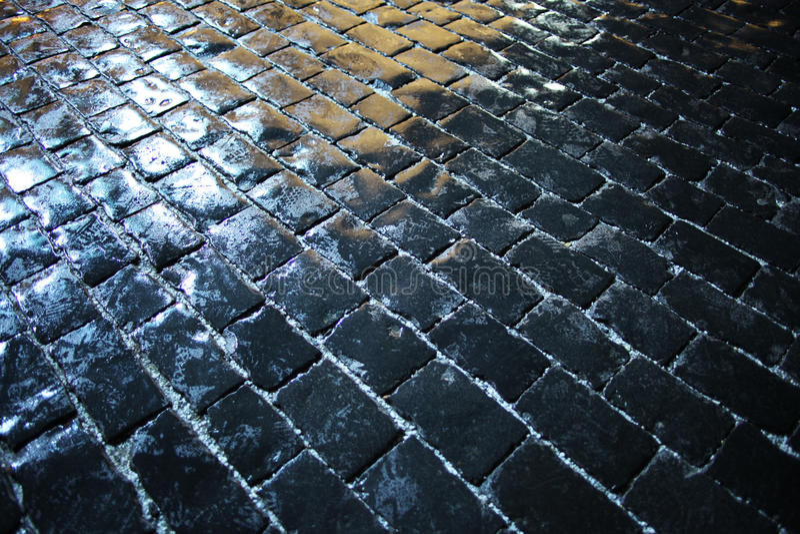 Teja oscura de la textura pavimentada imagen de archivo libre de regalías