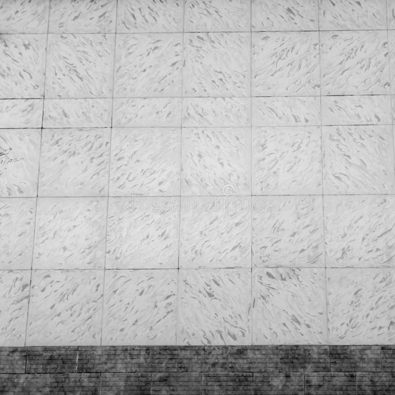 Teja Pared de tejas Fondo embaldosado de la pared imagenes de archivo