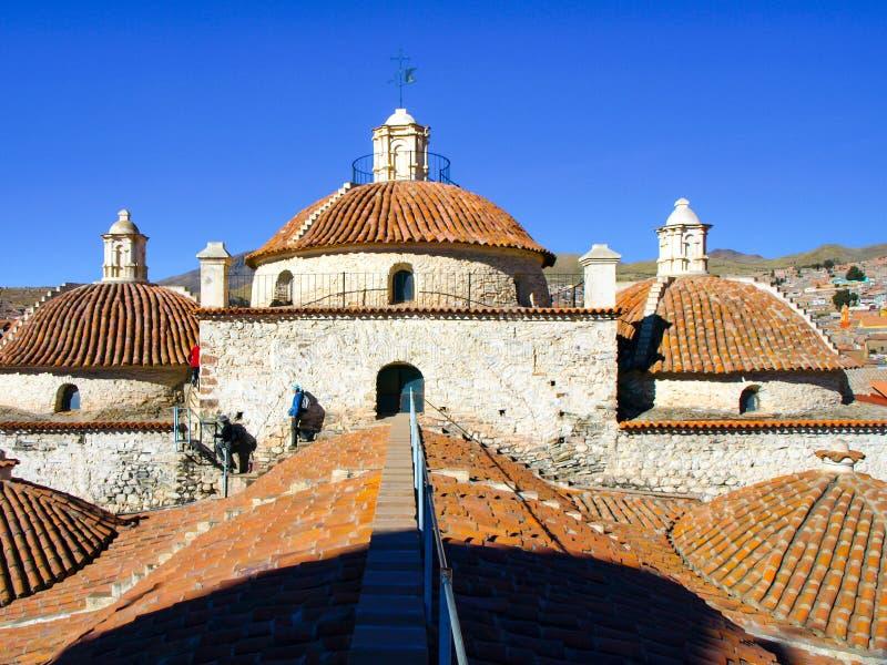 Tejado accesible de San Francisco Convent, Potosi, Bolivia, Suramérica imagen de archivo libre de regalías
