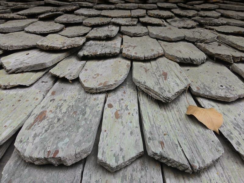 Tejado de madera fotografía de archivo libre de regalías
