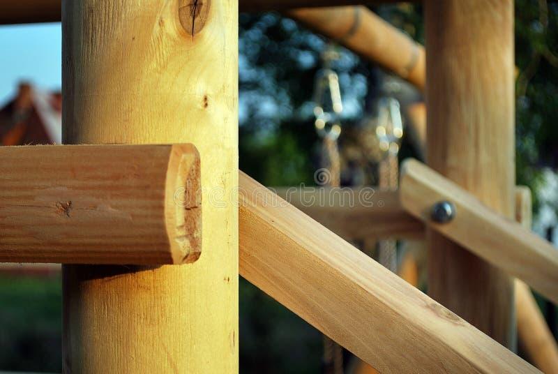 Tejado de madera foto de archivo libre de regalías