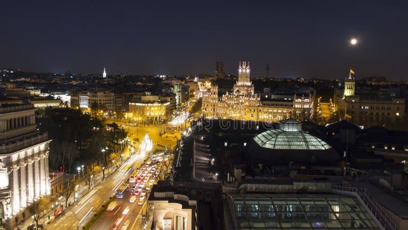 Tejado de Madrid imágenes de archivo libres de regalías