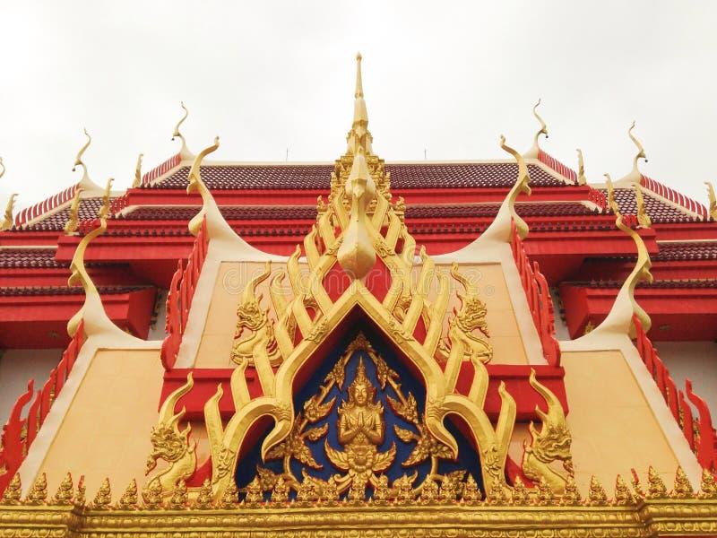 Tejado del templo fotos de archivo libres de regalías
