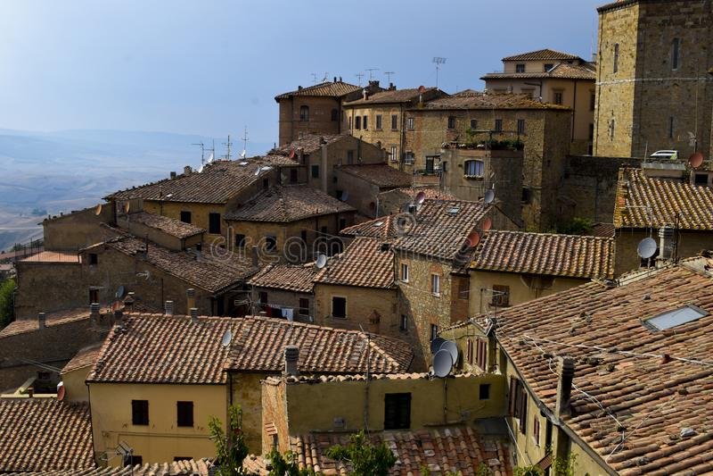Tejado italiano fotografía de archivo