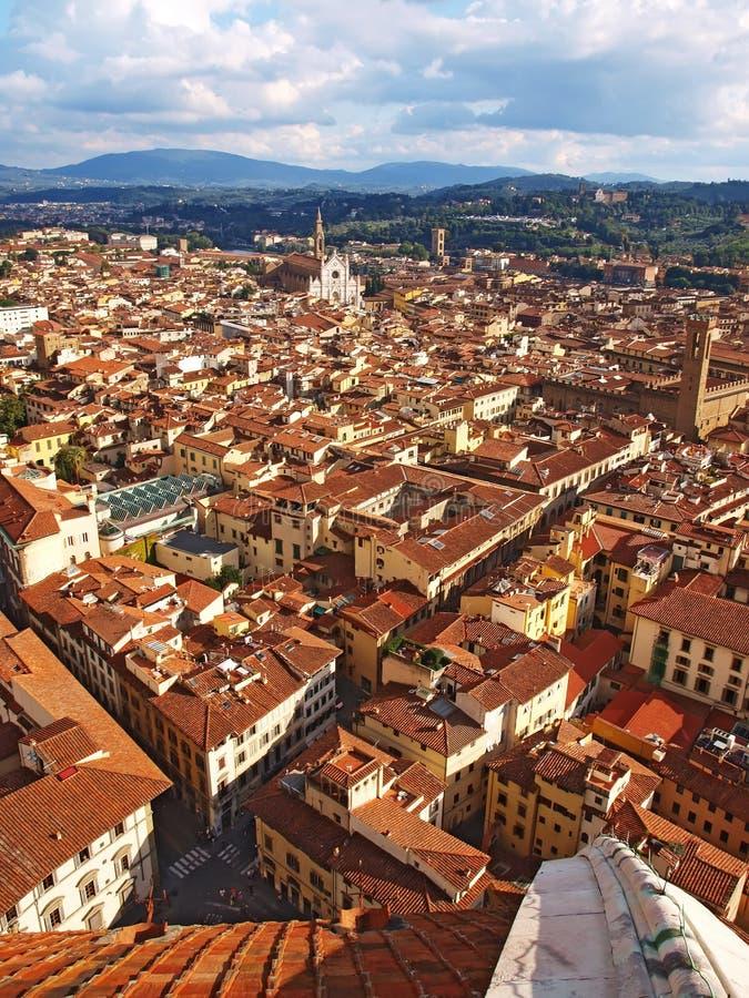 Tejados de Florencia, Italia fotos de archivo libres de regalías