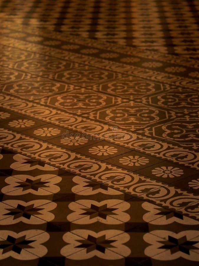 Tejas de Azulejo en México fotografía de archivo libre de regalías