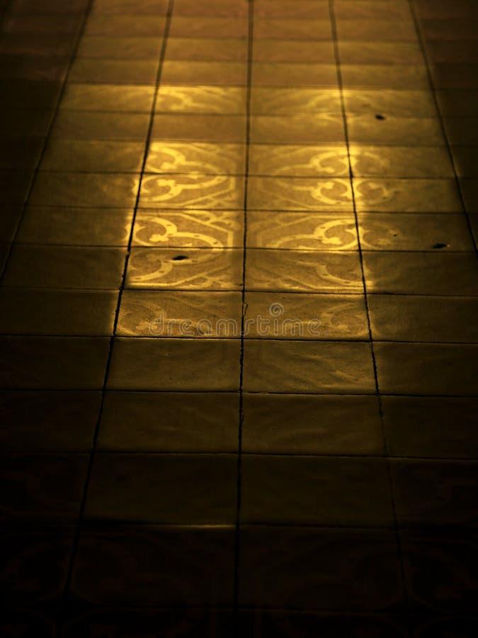 Tejas de Azulejo en México foto de archivo