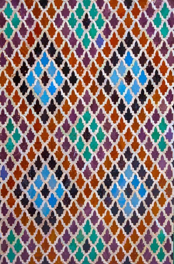 Tejas de Maroccan imagen de archivo