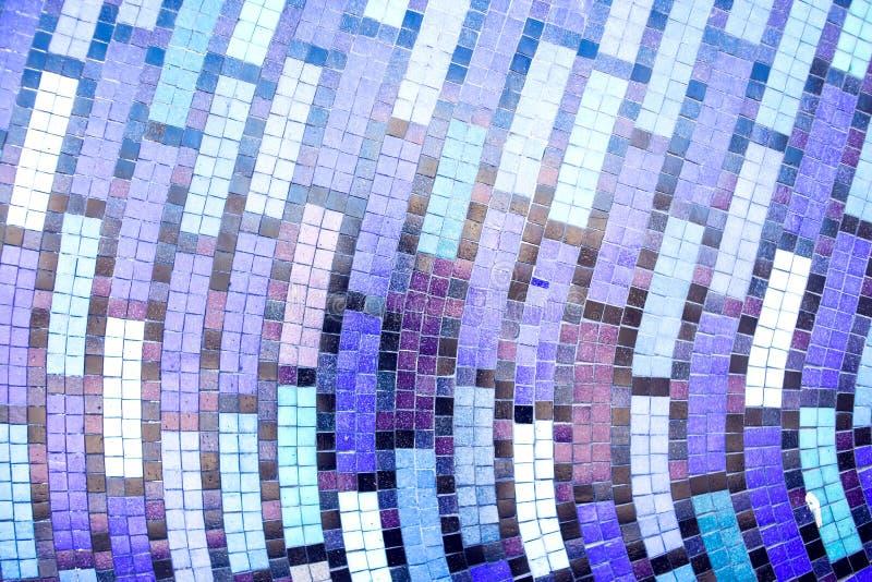 Tejas de mosaico del extracto colorido para el fondo foto de archivo libre de regalías