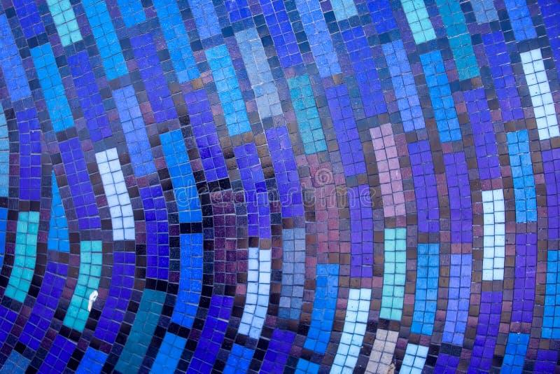 Tejas de mosaico del extracto colorido para el fondo imágenes de archivo libres de regalías