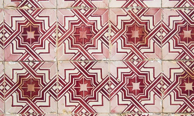 Tejas decorativas portuguesas adornadas tradicionales imágenes de archivo libres de regalías