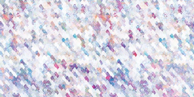 Tejas digitales de la pared de Colorfull ilustración del vector
