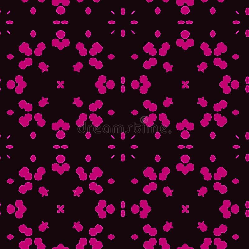 Tejas marroquíes púrpuras - modelo inconsútil libre illustration