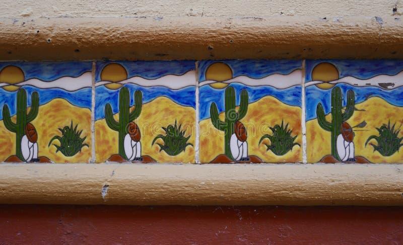 Tejas modeladas mexicano foto de archivo libre de regalías