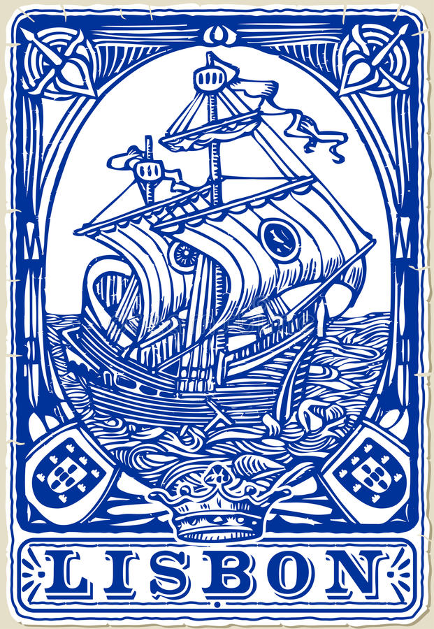 Tejas tradicionales Azulejos Lisboa, Portugal libre illustration