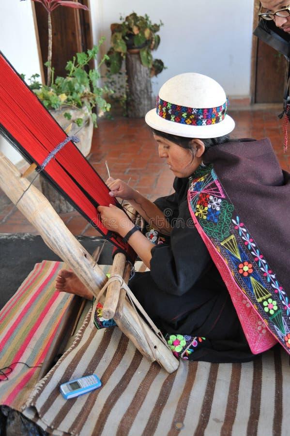Tejedor de Sucre imagen de archivo