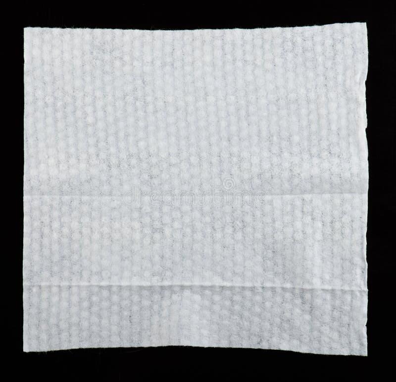 Tejido mojado limpio blanco del bebé fotografía de archivo libre de regalías