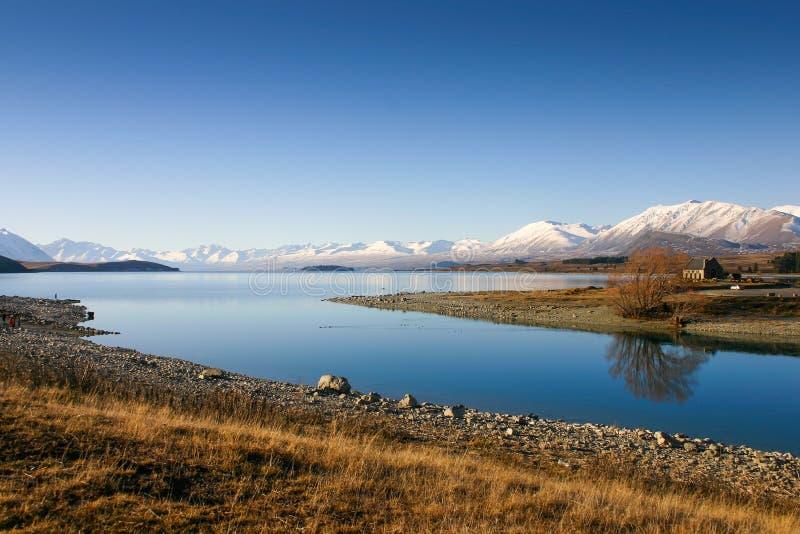 Tekapo New Zealand royalty free stock image