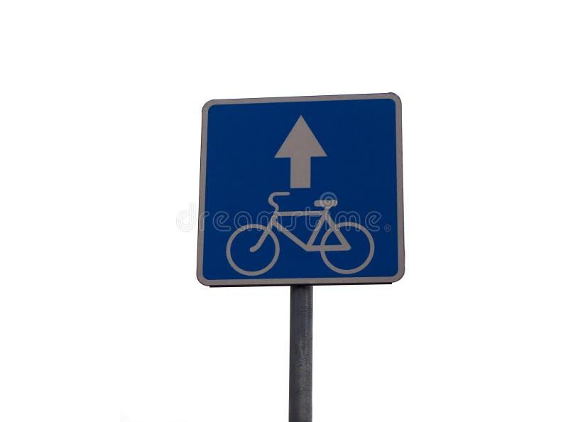 Teken die beweging op een fiets toestaan royalty-vrije stock fotografie