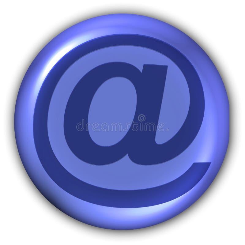 Teken - E-mail stock illustratie