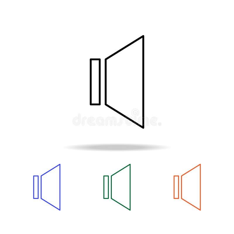 teken inbegrepen correct pictogram Elementen van eenvoudig Webpictogram in multikleur Grafisch het ontwerppictogram van de premie royalty-vrije illustratie