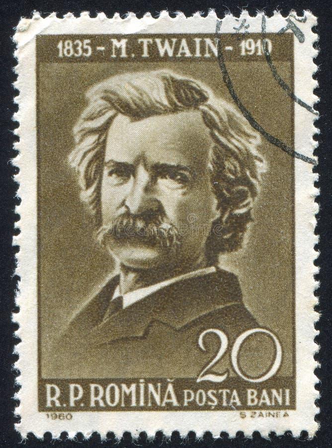 Teken Twain stock afbeeldingen