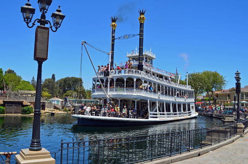 Teken Twain Riverboat stock afbeeldingen