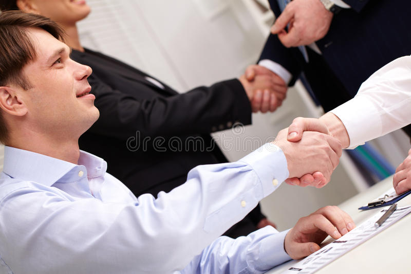 Teken van succes royalty-vrije stock afbeelding