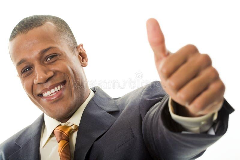 Teken van succes royalty-vrije stock foto