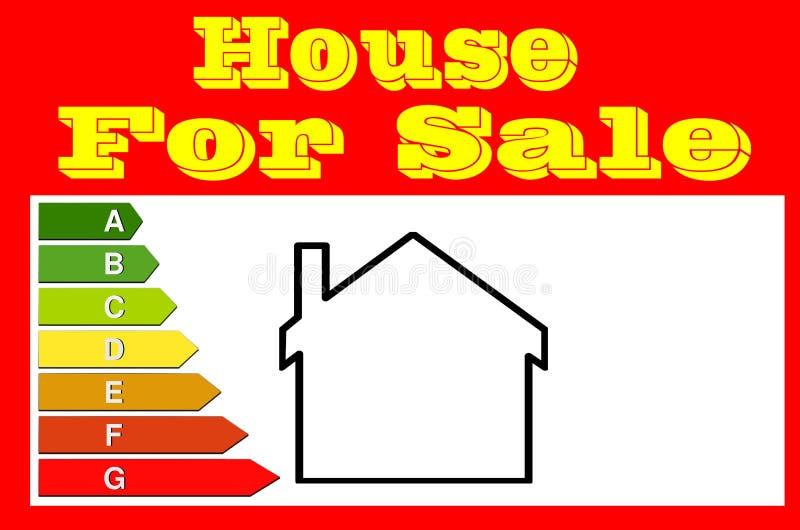 Teken voor makelaars in onroerend goed Huis voor Verkoop stock foto's