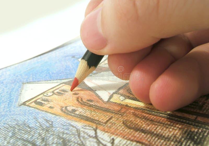 Tekening royalty-vrije stock afbeelding