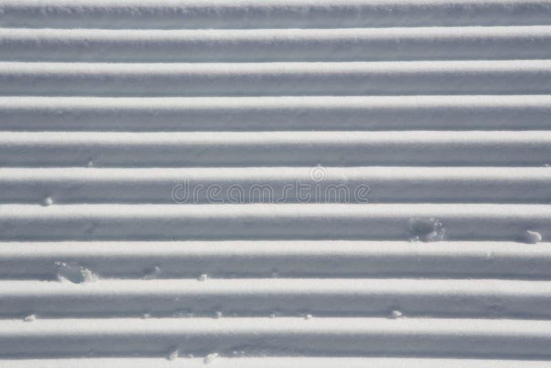 Tekeningen van sneeuw stock fotografie
