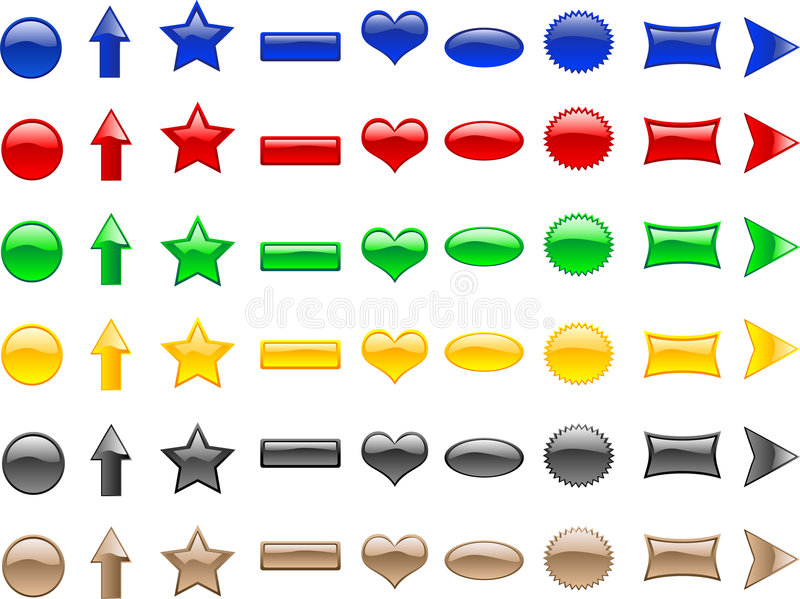 Tekens & Symbolen   stock illustratie