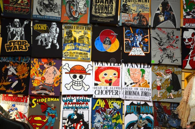 Tekens in de stad van Camden, Londen stock afbeeldingen
