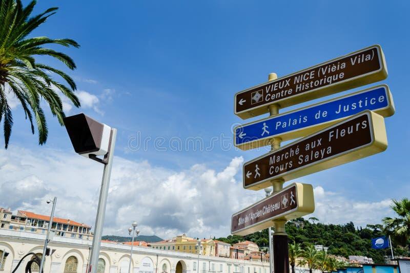 Tekens van Monaco royalty-vrije stock foto