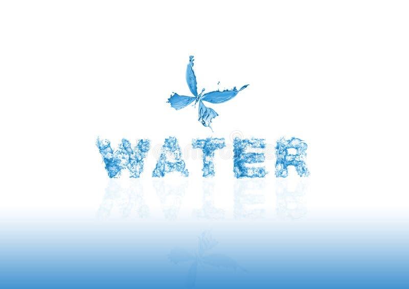 Tekenwater stock foto