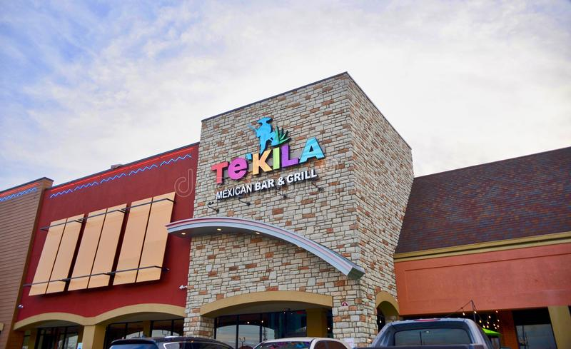 Tekila Mexican Bar and Grill, Cordova, Tennessee. Tekila Mexican Restaurant Bar and Grill located near Wolfchase in Cordova Tennessee serves quality Mexican royalty free stock images