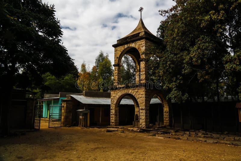 Teklehaimanot教会, jugol,哈勒尔,埃塞俄比亚 免版税图库摄影