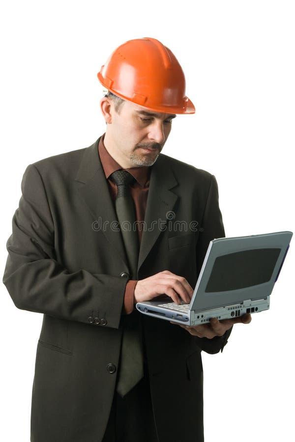 tekniker royaltyfri bild