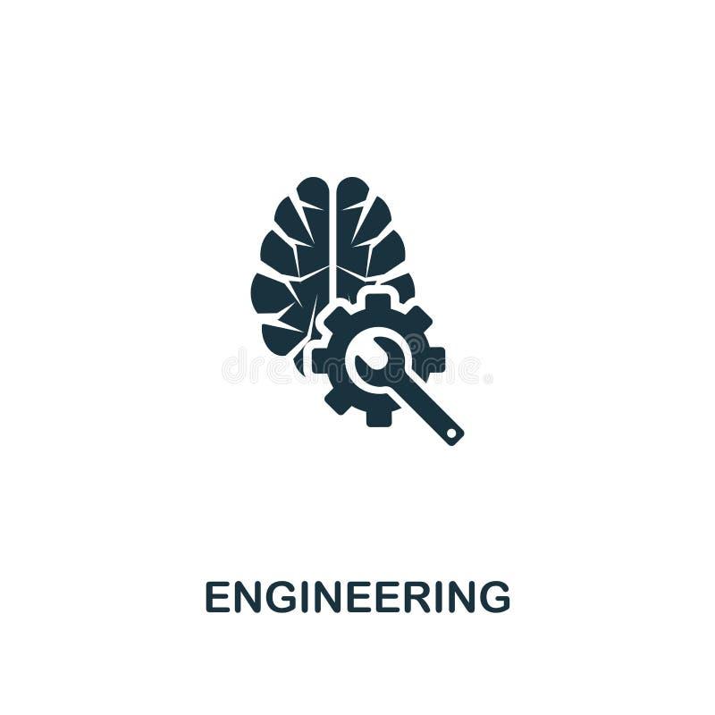 Tekniksymbol Högvärdig stildesign från symbolssamling för konstgjord intelligens UI och UX Perfekt iscensätta symbol för PIXEL E vektor illustrationer