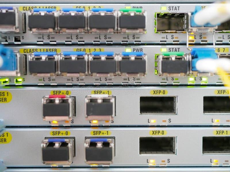 Teknisk operatör för kommunikationsutrustning royaltyfri fotografi